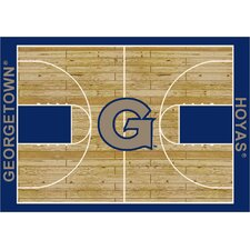 NCAA Court Georgetown Novelty Rug