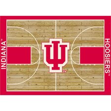 NCAA Court Indiana Novelty Rug