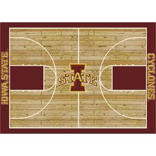 College Court NCAA Iowa State Novelty Rug
