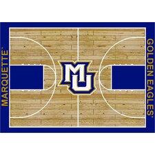 College Court Marquette Golden Eagles Rug