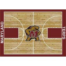 College Court Maryland Terrapins Rug
