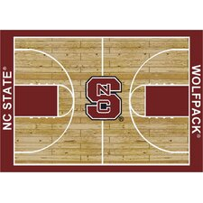 NCAA Court North Carolina State Novelty Rug