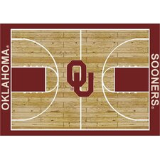 College Court Oklahoma Sooners Rug