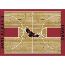 NCAA Court Saint Joseph's Novelty Rug