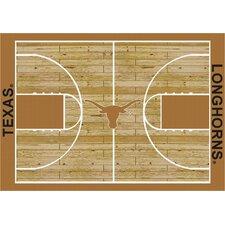 College Court Texas Longhorns Rug