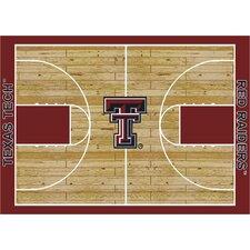 College Court NCAA Texas Tech Novelty Rug
