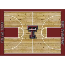 College Court Texas Tech Red Raiders Rug