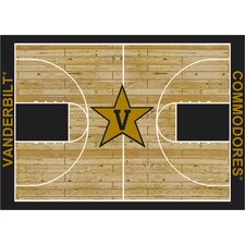 College Court Vanderbilt Commodores Rug