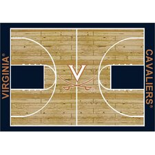 NCAA Court Virginia Novelty Rug