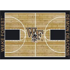 College Court NCAA Wake Forest Novelty Rug