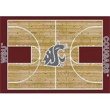 College Court Washington State Cougars Rug