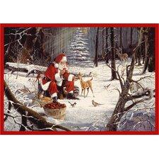 RJ McDonald Christmas Party Area Rug