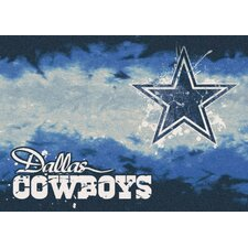 NFL Team Fade Dallas Cowboys Novelty Rug