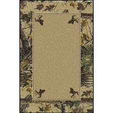 Realtree X-tra Solid Center Area Rug