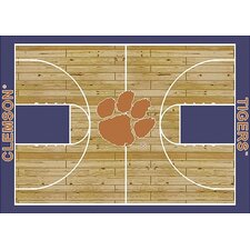 College Court NCAA Clemson Novelty Rug