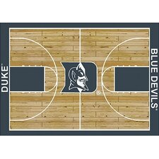 College Court NCAA Duke Novelty Rug
