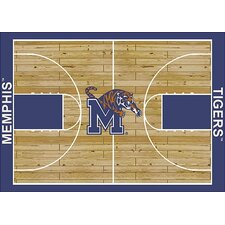 College Court NCAA Memphis Novelty Rug