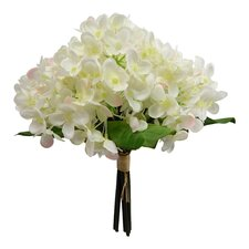 Cream with Pink Tip Hydangea Bouquet