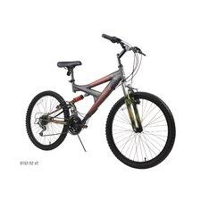 "Boys' 24"" Gauntlet Full Suspension Mountain Bike"