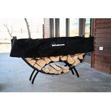 Steel Crescent Log Rack