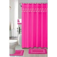 Thea 15 Piece Shower Curtain Set