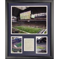 Dallas Cowboys - Cowboy Stadiums Framed Photo Collage