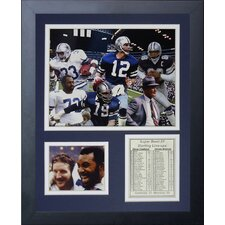 Dallas Cowboys 1977 Champs Framed Photo Collage