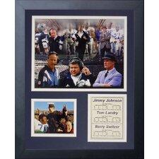 Dallas Cowboys Coaches Framed Photo Collage