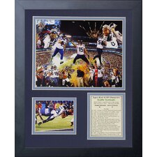 Seattle Seahawks 2013 Champs Framed Photo Collage