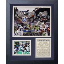 Dallas Cowboys Emmitt Smith Framed Photo Collage