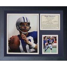 Dallas Cowboys Roger Staubach Framed Photo Collage
