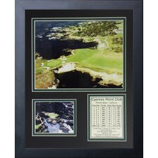 Cypress Point Golf Course Framed Memorabilia