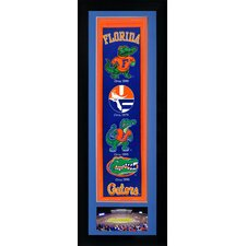 NCAA Framed Pennant with Photo Collectible