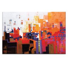 Travel News by Catherine Fitzgerald Painting Print on Canvas