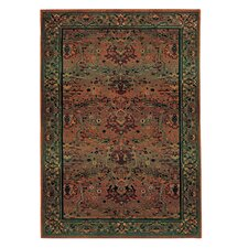 Karsyn Traditional Green/Beige Area Rug