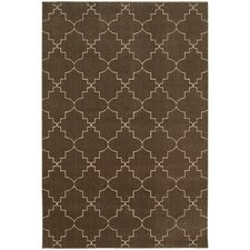 Eaton Brown/Ivory Indoor Area Rug