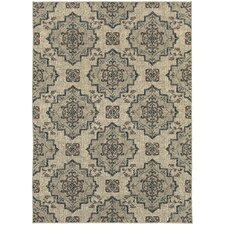 Harmony Beige/Gray Indoor Area Rug