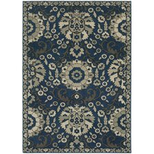 Harmony Midnight/Beige Indoor Area Rug