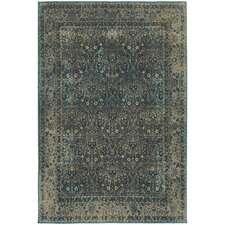 Payton Navy/Gray Indoor Area Rug