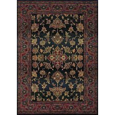 Karsyn Traditional Blue/Red Area Rug