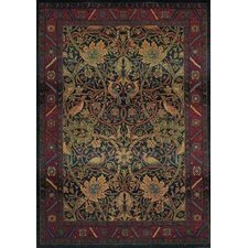 Karsyn Floral Red/Blue Area Rug