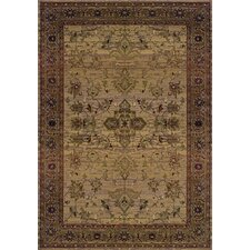 Karsyn Traditional Beige/Green Area Rug