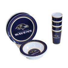 12 Piece NFL Dinnerware Set