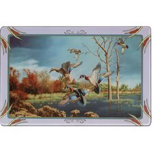Duck Tempered Glass Cutting Board
