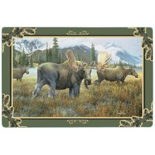 Moose Tempered Glass Cutting Board