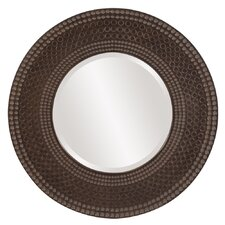 Transitional Hampton Round Wall Mirror