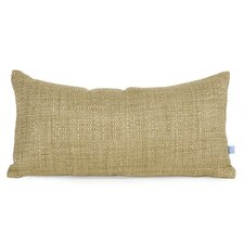 Decorative Coco Kidney Soft Burlap Lumbar Pillow