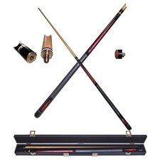 Designer Pool Stick in Ruby Red