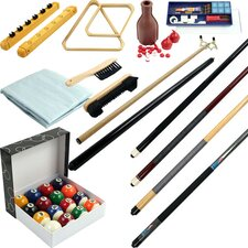 Billiards 32 Piece Accessory Kit For Pool Table