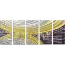 5 Piece Rings of Magnetism Wall Décor Set (Set of 5)